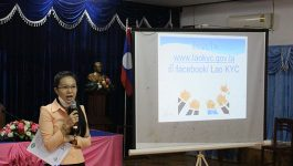 ເພື່ອເປັນຕິດຕາມການເຄື່ອນໄຫວຂອງຜູ້ຊົມໃຊ້ໂທລະສັບໃນການເດີນທາງໄປສະຖານທີ່ຕ່າງໆ ທັງເປັນການບັນທຶກຂໍ້ມູນໃຫ້ມີຄວາມສະດວກວ່ອງໄວ ແລະ ທັນສະໄໝຂຶ້ນກວ່າເກົ່າ ມາໃນຕອນເຊົ້າຂອງວັນທີ 16 ກັນຍາ 2021 ພະແນກເຕັກໂນໂລຊີ ແລະ ການສື່ສານແຂວງ ໄດ້ເຜີຍແຜ່ການນຳໃຊ້ ໂປຼແກຼມລາວສູ້ ຫຼື Lao KYC ຢູ່ພະແນກຖະແຫຼງຂ່າວ, ວັດທະນະທຳ ແລະ ທ່ອງທ່ຽວແຂວງ […]